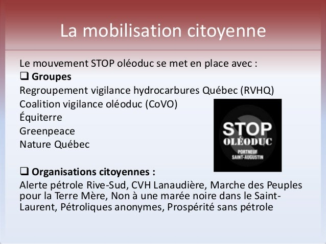 Le centre du droit à l'environnement  o Le Centre québécois du droit de  l'environnement a intenté des recours  judiciaire...