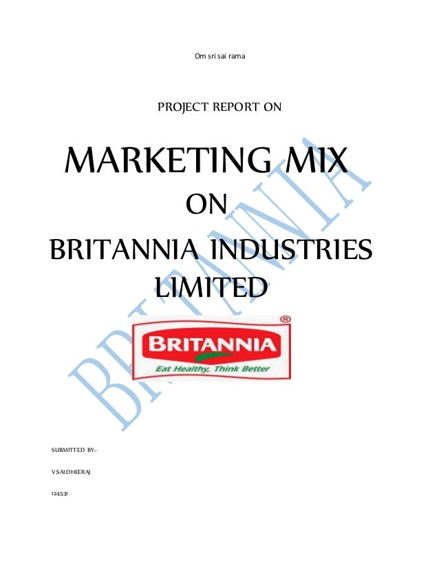marketing project on britannia 29th august 2008 goes down in the history of our company as the day, when britannia started manufacturing and marketing its products in sri lanka apart from tapping new markets continue reading  please join studymode to read the full document  project on project guide: submitted by:.