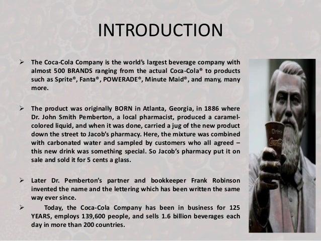 4ps of coca cola pdf