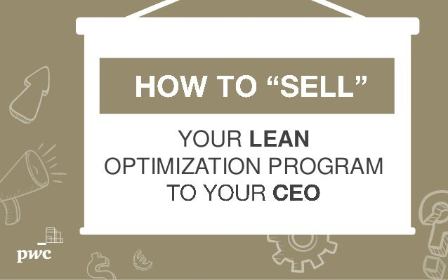 YOUR LEAN OPTIMIZATION PROGRAM