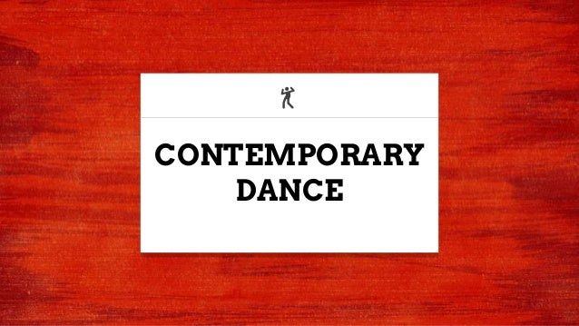 CONTEMPORARY DANCE 💃