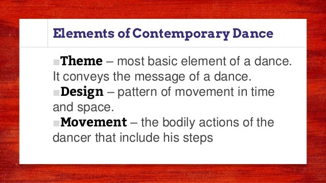 4 q.4. contemporary dance