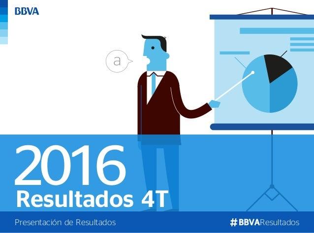 Resultados 4T BBVAResultadosPresentación de Resultados 2016