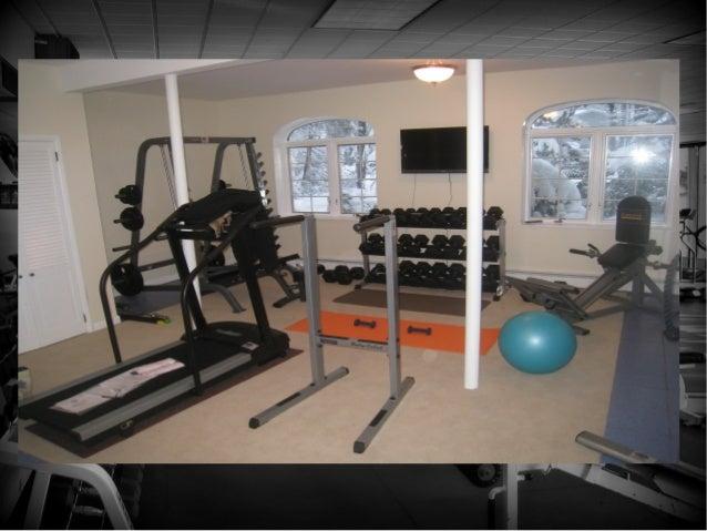 set up home gym. Black Bedroom Furniture Sets. Home Design Ideas