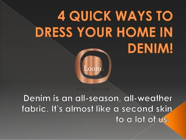 Denim is an all-season, all-weather fabric. It's almost like a second skin to a lot of us. While some may avoid it in summ...