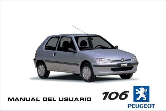 manual peugeot 106 rh slideshare net Peugeot 202 Peugeot 306