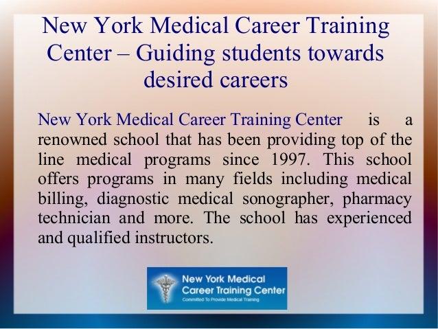 New York Medical Career Training Center – Guiding students towards desired careers New York Medical Career Training Center...