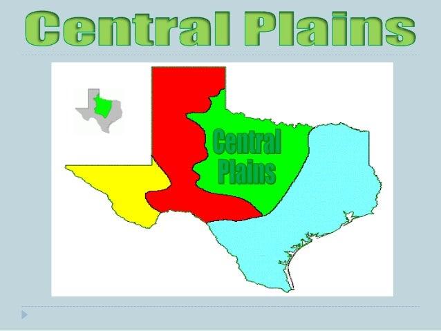 Four Regions of Texas