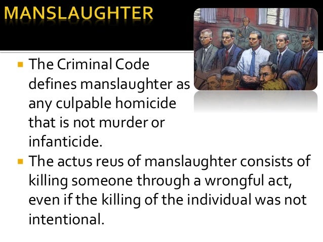 difference between culpable homicide and manslaughter