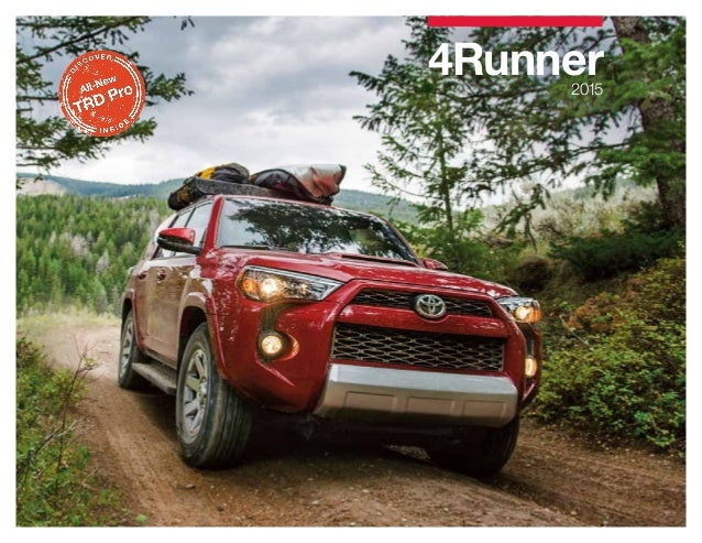 2015 Toyota 4Runner Brochure   Toyota Dealer serving Bloomington