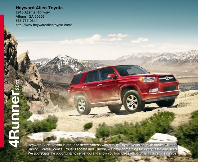 Am I the 4Runner type? With its reinforced body-on-frame construction, Toyota 4Runner has always been the kind of SUV that...