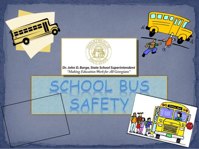 This unit will teach you about: School bus stop safety School bus danger zone Loading & unloading How to cross the ro...