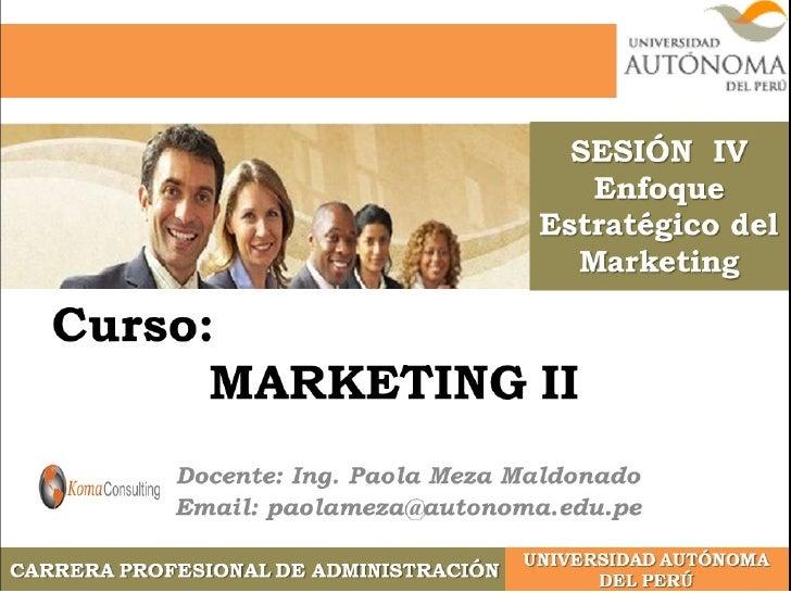 """¿Qué es el Marketing?  """"Es un proceso social y administrativo   mediante el cual, grupos e individuos   obtienen lo que ne..."""