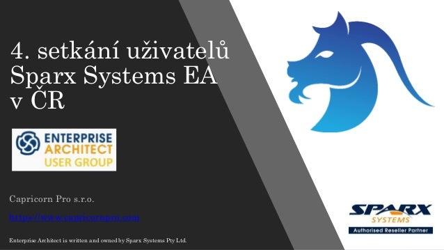 ArchiMate 3 Capricorn Pro s.r.o. (Slávek Rydval) 4. setkání uživatelů Sparx Systems EA v ČR Capricorn Pro s.r.o. https://w...