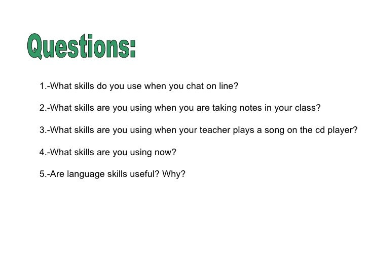 4 language skill Build a foundation and focus on what matters most for language arts and reading  readiness with language arts 4 today: the common core edition for second.
