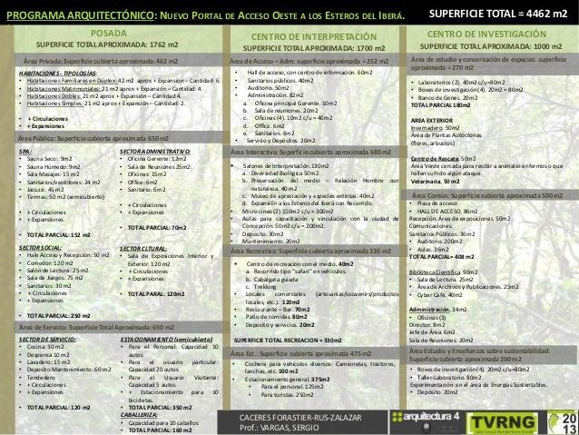 S ntesis del programa arquitect nico for Programa arquitectonico biblioteca