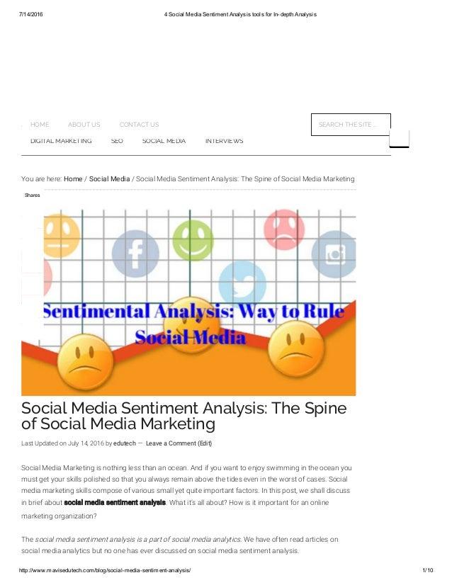 sentiment analysis tools