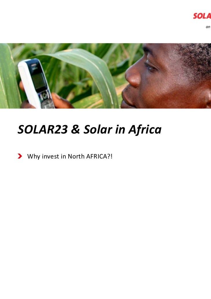 A glimpse into the future of Solarrenewable energy                                      realizing EnergySOLAR23&Solarin...