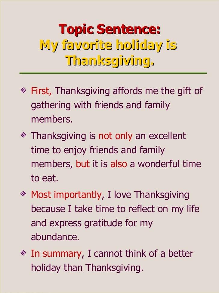 My favorite holiday essay bendi charlasmotivacionales co