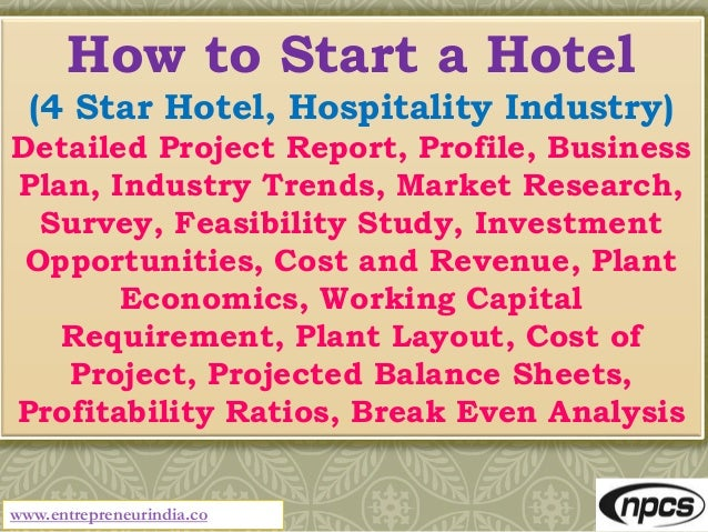 feasibility study hotel business plan
