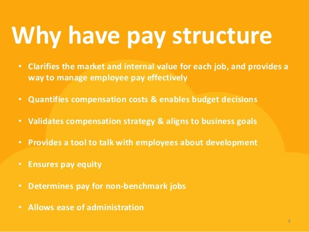 building a pay structure essay There may be an overwhelming number of proposals, making it difficult to  evaluate  this essay is based on my experiences as a member or leader of  salary, grant, and  i once helped organize reviews under such a system.