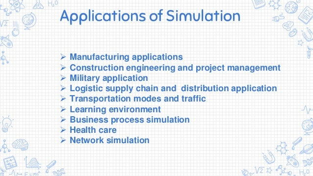 Simulation and its application