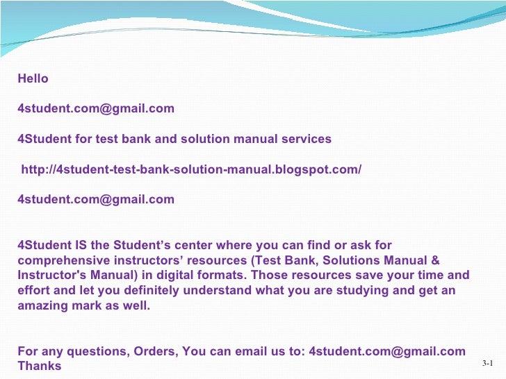 4 student for test bank and solution manual email 4student com deliv rh slideshare net Starting a Blog