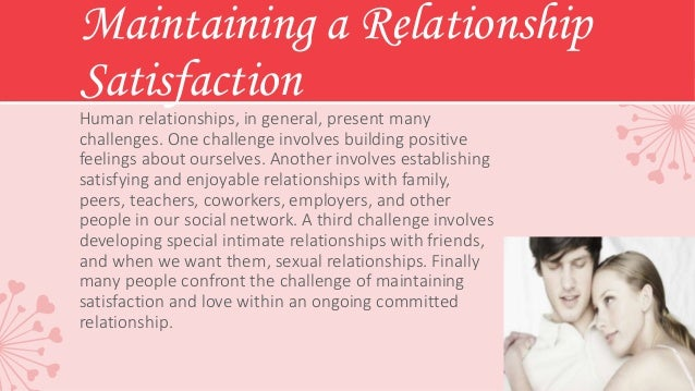 Communication, Love, and Intimacy