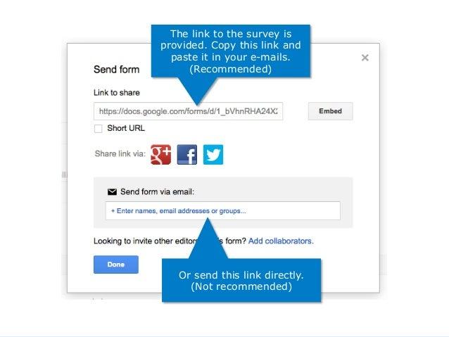 Website Promotion - 4 surveys w google drive