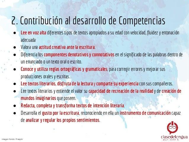 3. Contenidos ● El lenguaje literario y algunos de sus recursos: Metáfora, Comparación, Personificación y LA SINESTESIA ● ...