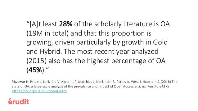"""""""70% of UK OA articles are published in hybrid journals, yet subscription expenditure has continued to grow"""". """"Average APC..."""