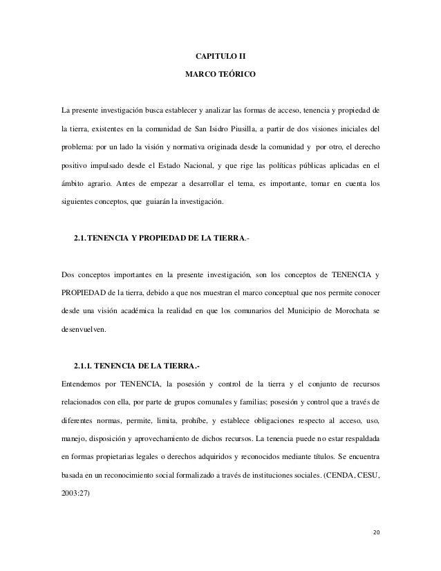 CAPITULO II                                      MARCO TEÓRICOLa presente investigación busca establecer y analizar las fo...
