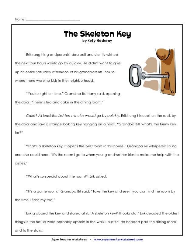 Three Skeleton Key   Free Horror Story   Scary Website
