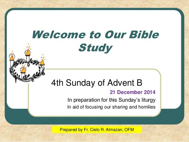 4th Advent B