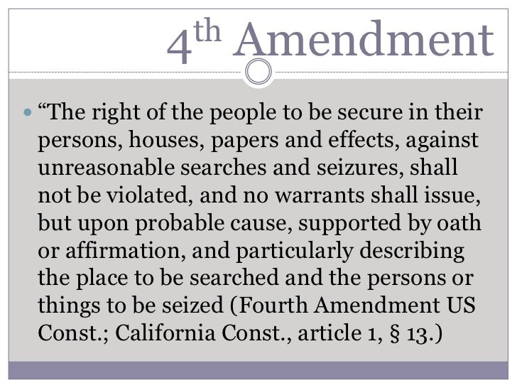 "fernandez v california fourth amendment upheld Uc hastings professor rory little has written a response to my post on fernandez v california recent fourth amendment upheld a ""consent."