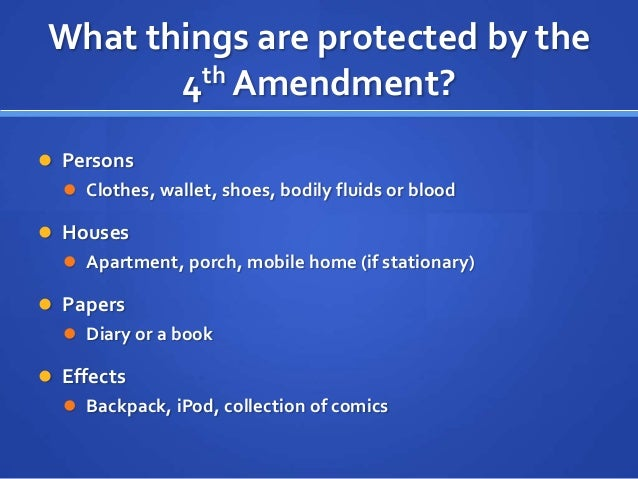 essay about the 4th amendment The vast majority of current fourth amendment doctrine is  [4] this essay  explains why and offers an alternative that takes seriously the.