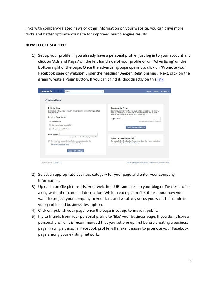 how to get search engines to find your facebook