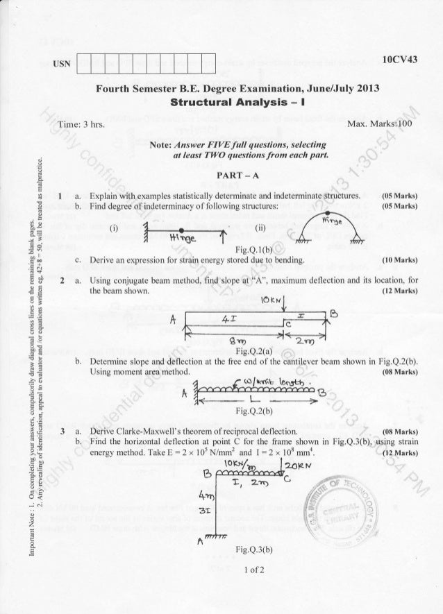 Gate 2012 Question Paper For Civil Engineering Pdf