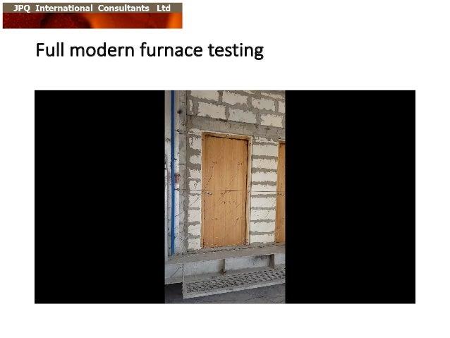 Full  modern  furnace  testing