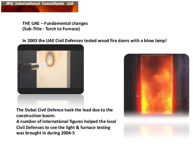 THE  UAE  – Fundamental  changes (Sub-‐Title  -‐ Torch  to  Furnace) In  2003  the  UAE  Civil  De...