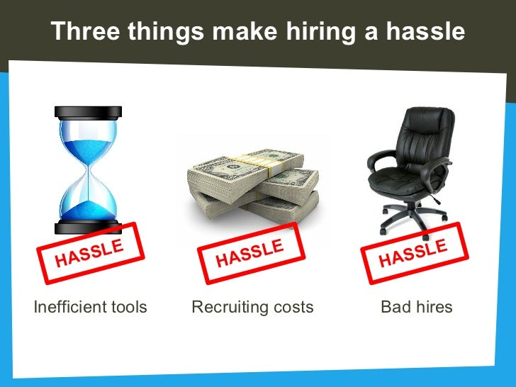 Hiring Is A #@u0026% HASSLE; 3.  The Resumator