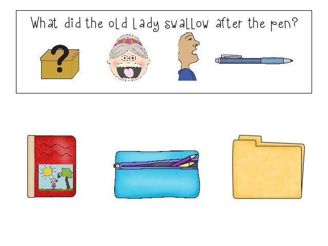 there was an old lady who swallowed some books pdf