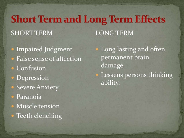short term and long term effects Long-term definition, covering a relatively long period of time: a long-term lease see more.