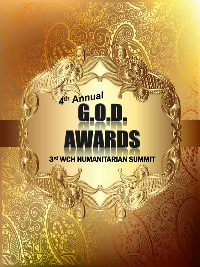 3rd WCH HUMANITARIAN SUMMIT