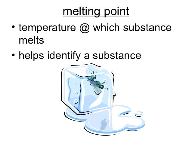 What Physical Property Helps Identify A Substance
