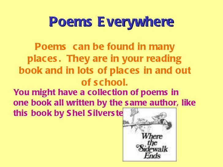 Poems For Fourth Graders 1