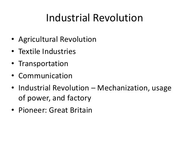 the positive and negative effects of mechanization on the industrialization In our ultimate guide to the industrial revolution, we attempt to  the impact of  the industrial revolution was very positive and negative at the same time   mechanization and factories commonly associated with this period.