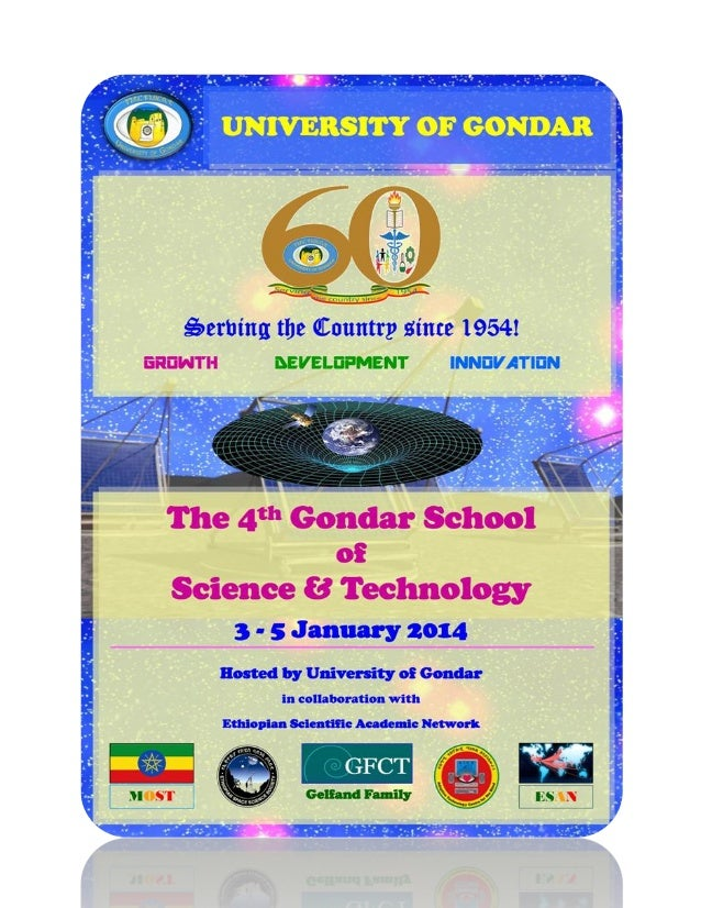 Proceedings of the 4th Gondar School of Science & Technology