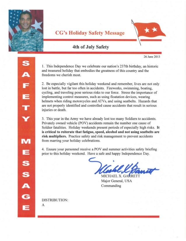 4th of july holiday safety message (signed)