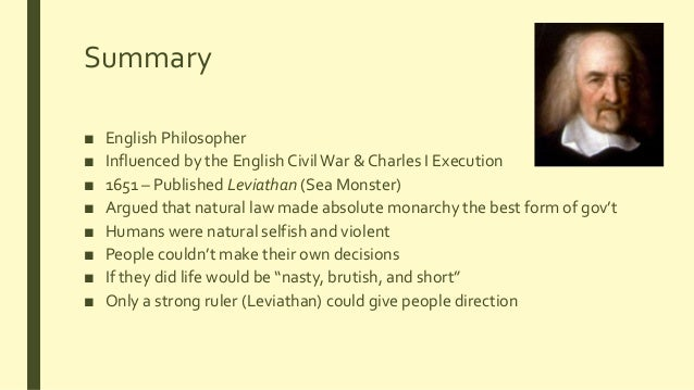 an analysis of hobbes leviathan The explanation of conflict in hobbes's leviathan p rtel piirim e st john's college, cambridge abstract analysis of chapter 13 of leviathan where hobbes explains the causes of conflict in the state of nature (part 2).